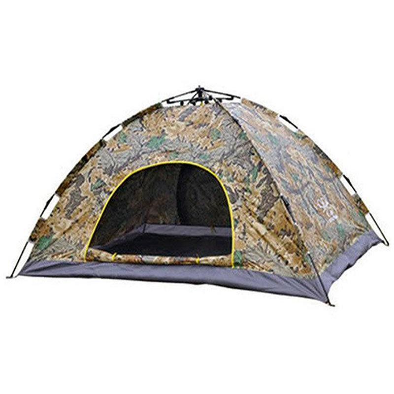 Палатка-автомат Leomax 4-х местная с автоматическим каркасом