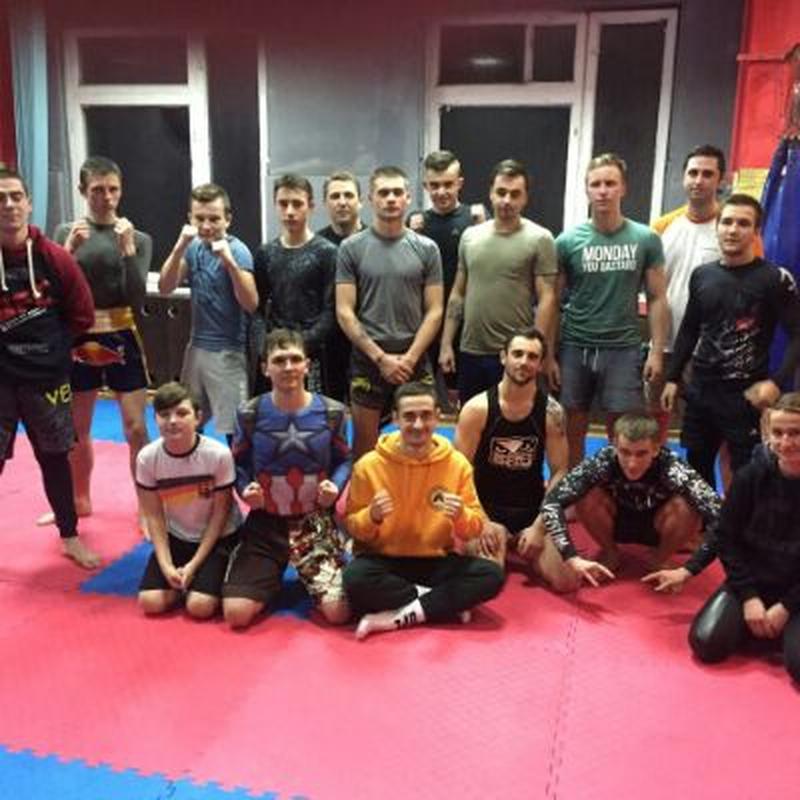 Персональные тренировки по тайскому боксу, кикбоксингу и боксу