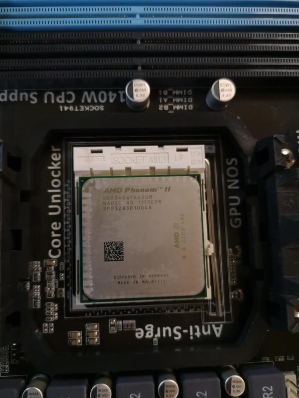 M4A88T-M+AMD Phenom II X4 840 - Фото 3