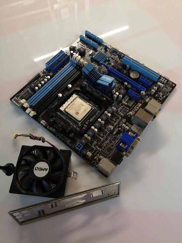 M4A88T-M+AMD Phenom II X4 840