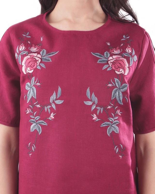 Летнее платье с вышивкой Вышиванка Лен - Фото 2