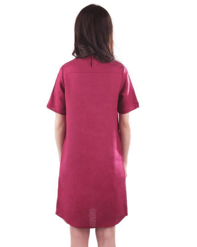 Летнее платье с вышивкой Вышиванка Лен - Фото 4