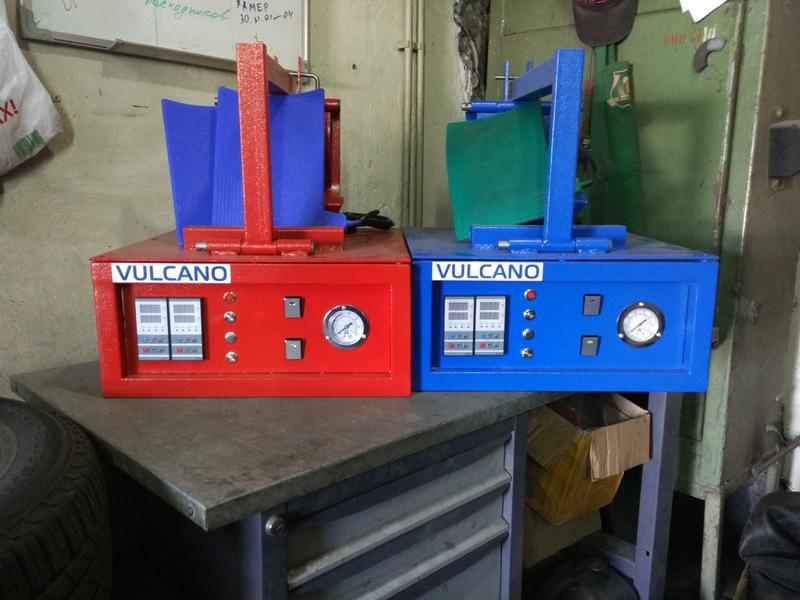 Вулканизатор VULCANO с гибкими нагревателями