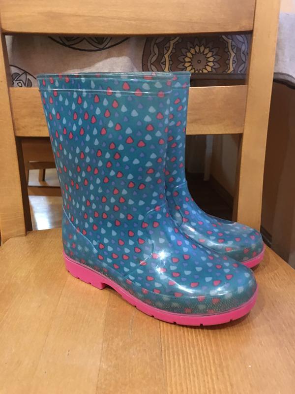 Резиновые сапоги резинові чобітки гумаки 19.5 см.
