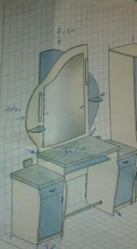 Парикмахерский стол - Фото 2