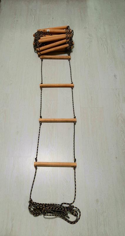 Веревочная лестница 10 метров - Фото 2
