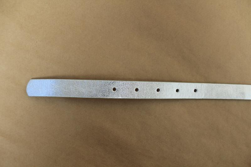 H&m серебряный ремень серебристый пояс женский - Фото 2