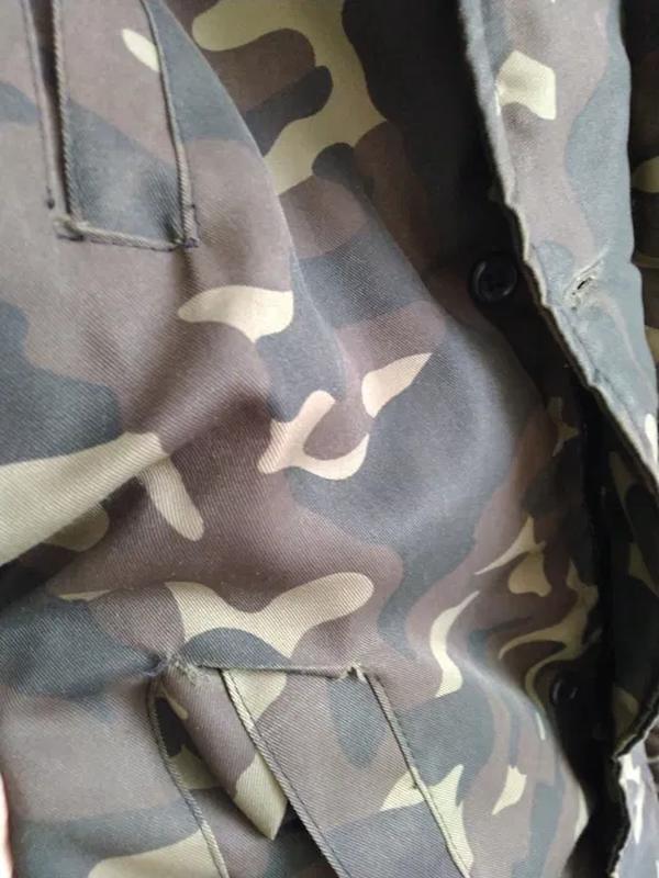 Куртка мужская камуфляж - Фото 3