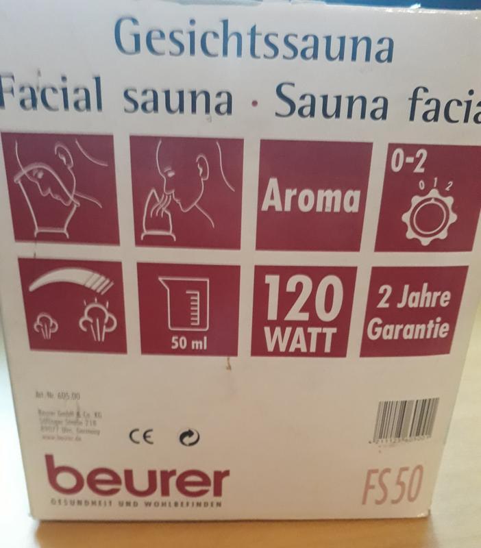 Сауна для лица beurer fs 50 - Фото 4