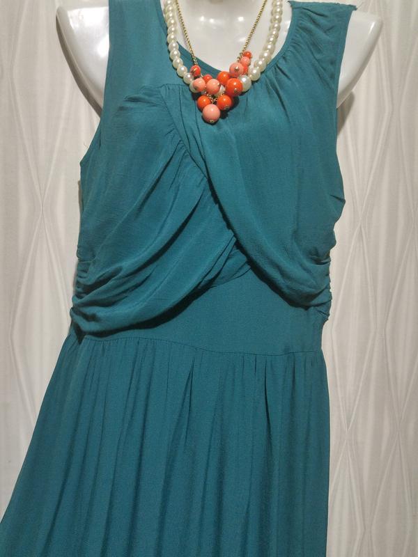«розвантажуюсь» стильное платье с ассиметричным низом. - Фото 2