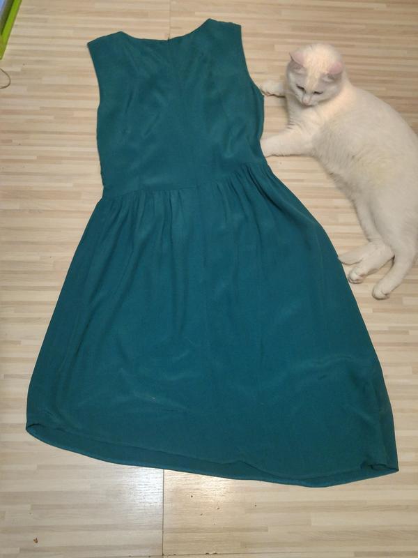 «розвантажуюсь» стильное платье с ассиметричным низом. - Фото 5