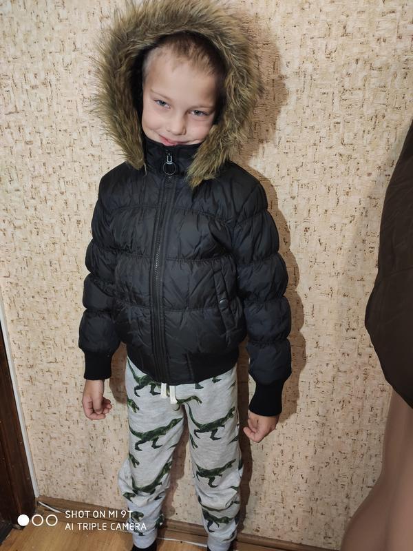 Стильная деми куртка 128 размер