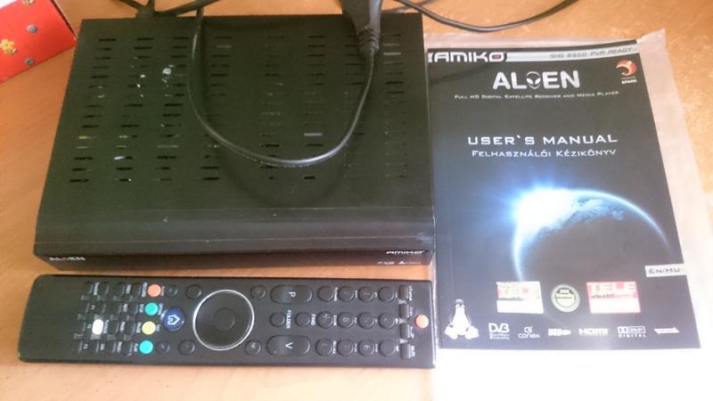 Спутниковый HD ресивер Amiko SHD-8900 Alien (Брат GI 8120 HD)