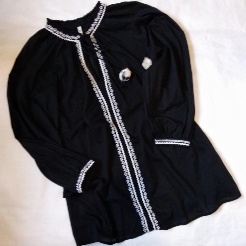 Блуза рубашка блузка с вышивкой