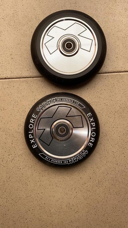 Колеса Explore для трюковых самокатов 110мм - Фото 3