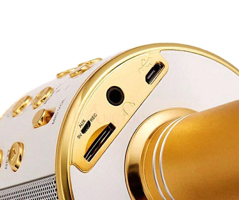 Беспроводной микрофон для караоке Wster WS-858  колонка - Фото 4