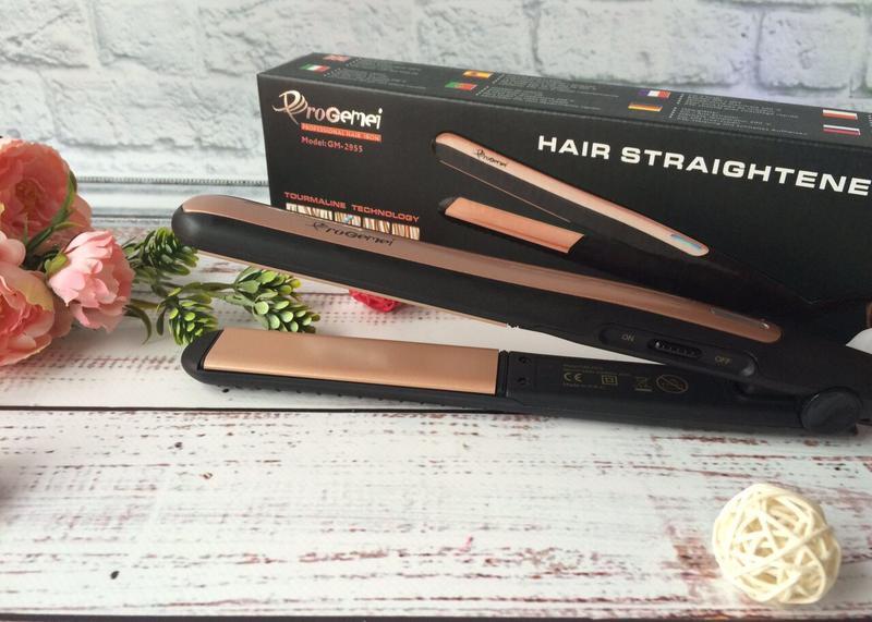 Утюжок для выравнивая волос Progemei gm 2955