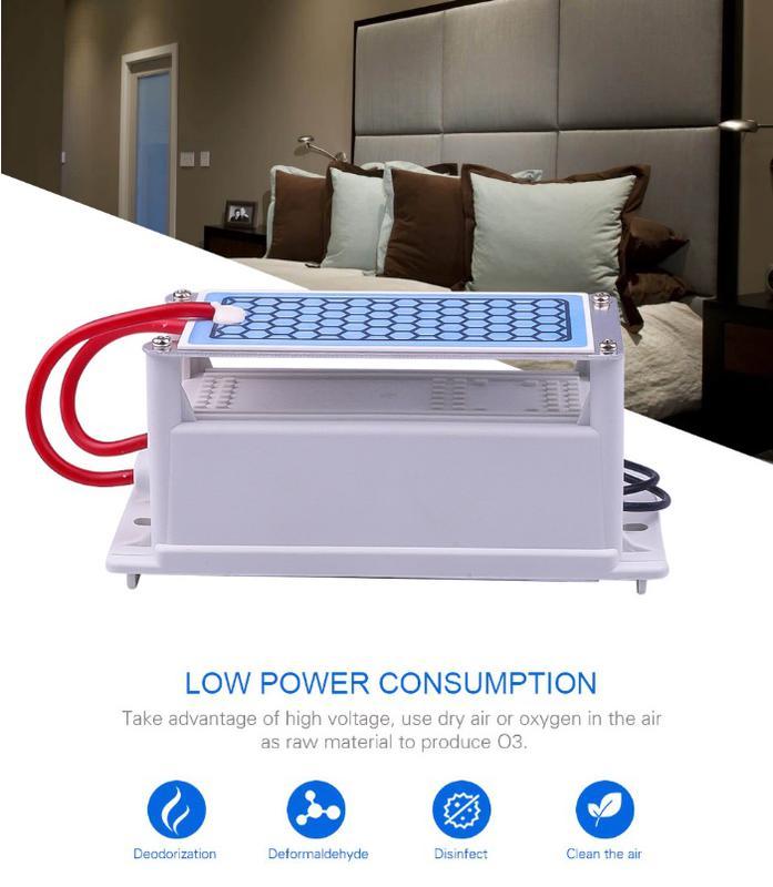 Генератор озона 220 вольт 5г/ч озонатор бытовой
