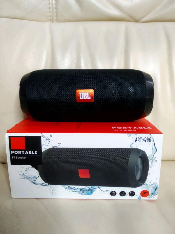 Высококачественная портативная колонка Bluetooth / MP3 / FM JBL T - Фото 2