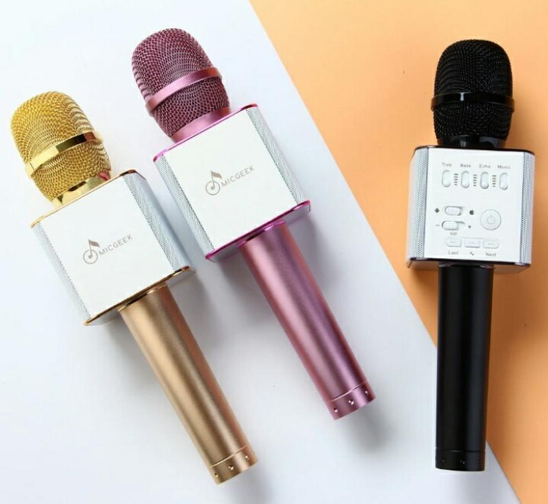 Караоке микрофон Bluetooth Колонка WS с Микрофоном для караоке - Фото 3