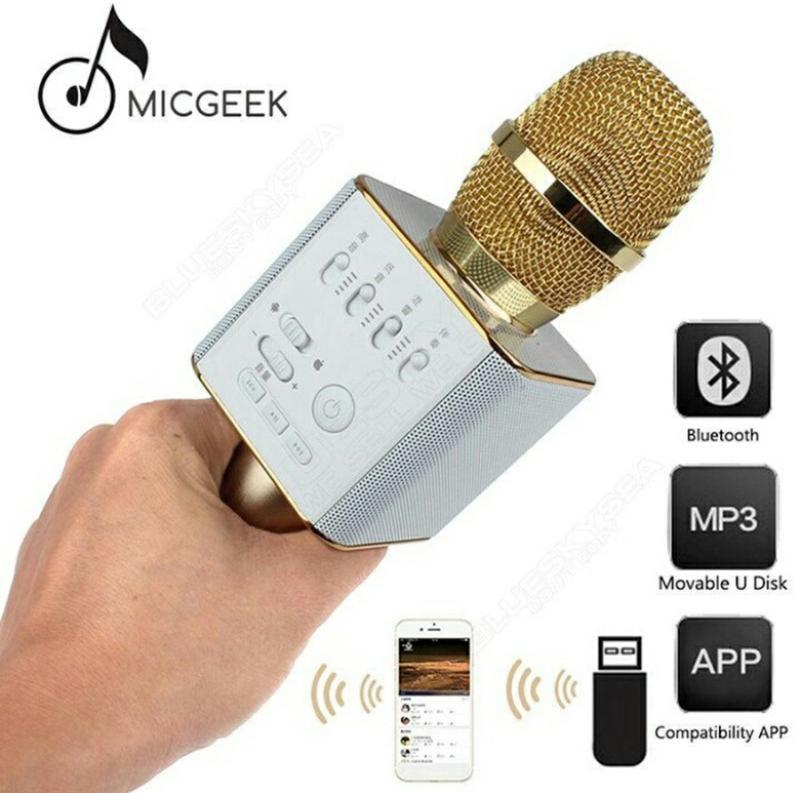 Караоке микрофон Bluetooth Колонка WS с Микрофоном для караоке - Фото 4