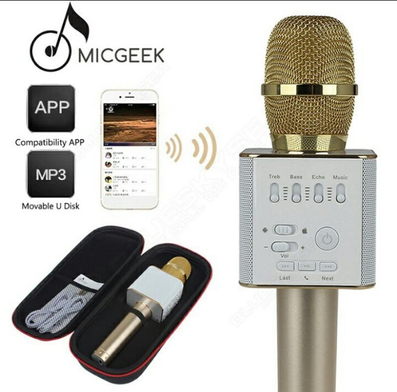 Караоке микрофон Bluetooth Колонка WS с Микрофоном для караоке - Фото 5