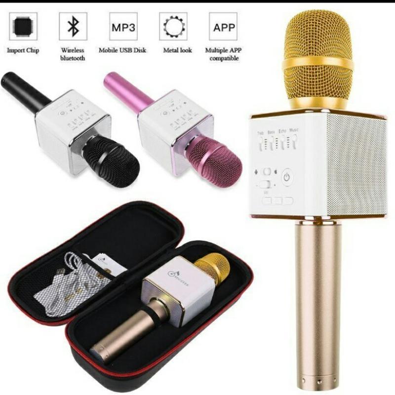 Караоке микрофон Bluetooth Колонка WS с Микрофоном для караоке - Фото 6