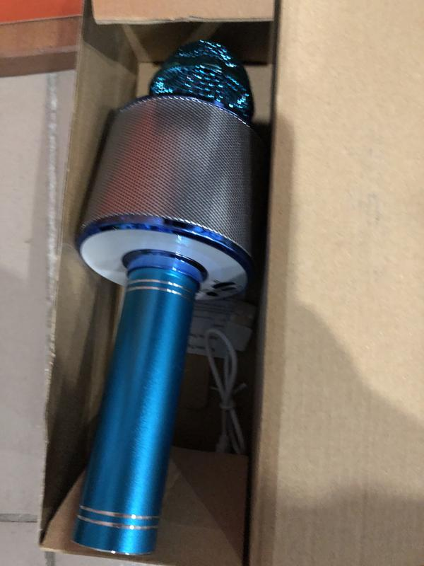 Караоке микрофон Bluetooth Колонка WS с Микрофоном для караоке - Фото 17