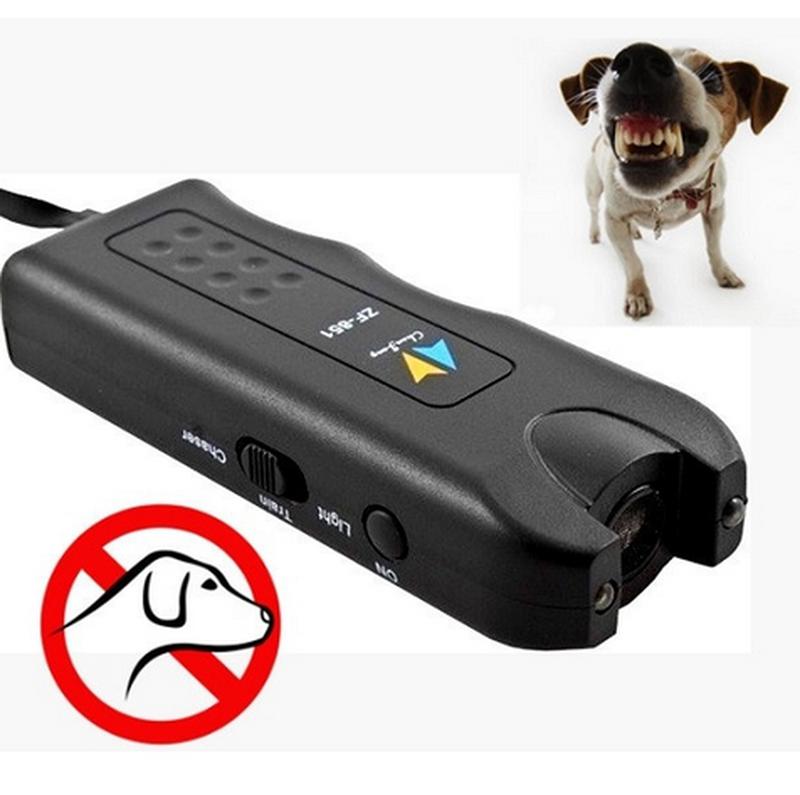 Ультразвуковой отпугиватель собак + фонарь MT- 650 - Фото 4