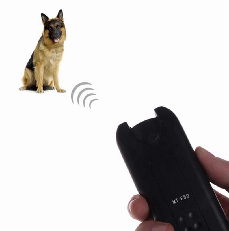 Ультразвуковой отпугиватель собак + фонарь MT- 650 - Фото 2