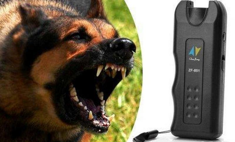 Ультразвуковой отпугиватель собак + фонарь MT- 650 - Фото 7