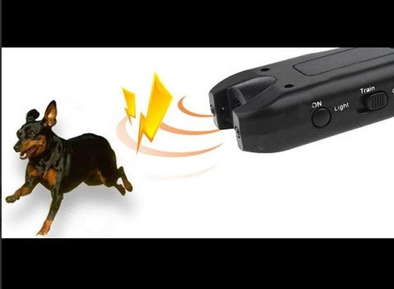 Ультразвуковой отпугиватель собак + фонарь MT- 650 - Фото 3