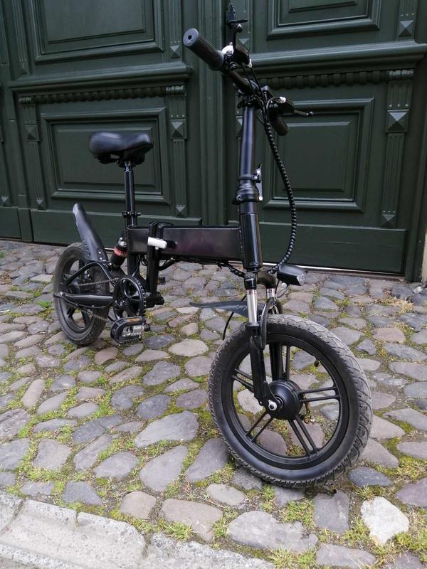 ЕЛЕКТРОВЕЛОСИПЕД HANZA ВE-16. Електро велосипед. Электровелосипед