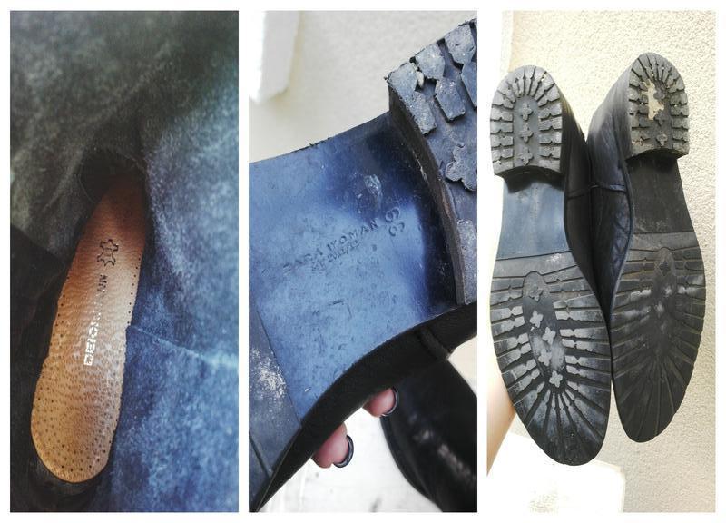 Кожаные ботинки,сапоги без застежки,из 100% кожи,39р(26см стел... - Фото 5