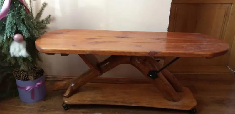 Журнальный столик из массива дерева - Фото 2