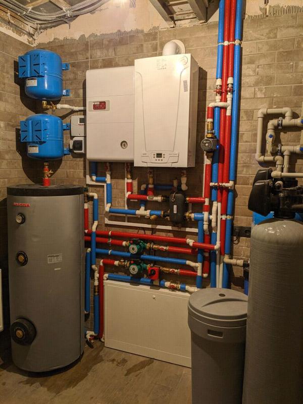 Монтаж системы отопления! Замена радиаторов! Тёплый пол!