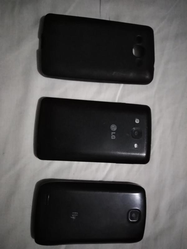 Телефони на запчастини LG, Fly ціні за 2 телефони. - Фото 2