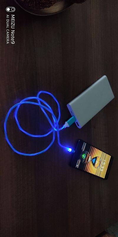 Светящийся магнитный кабель - Фото 4
