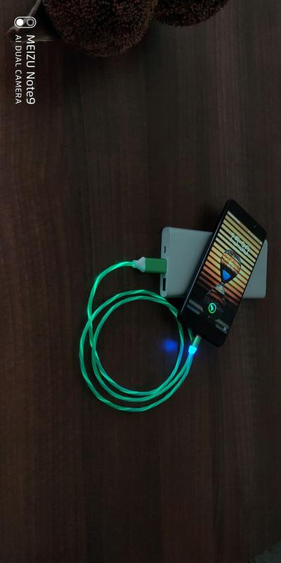Светящийся магнитный кабель - Фото 6