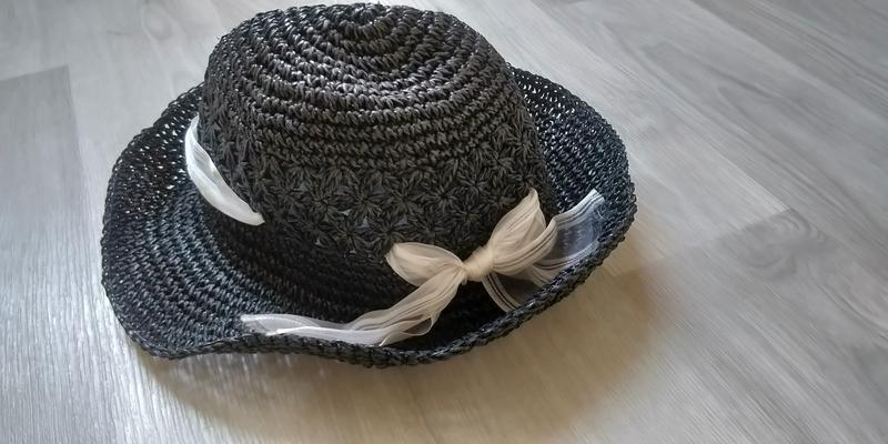 !продам женскую летнюю элегантную плетённую шляпку с красивой ...