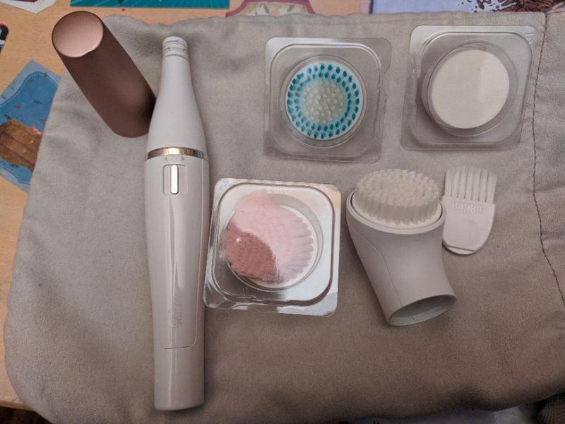 Прибор для ухода за кожей лица Braun Face Spa