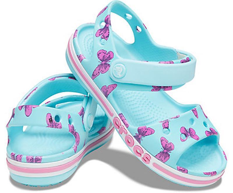 Детские босоножки crocs  р-р с12