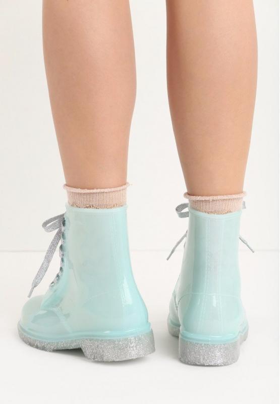 Стильные резиновые ботинки сапоги vices - Фото 2