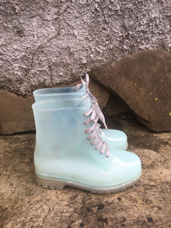 Стильные резиновые ботинки сапоги vices - Фото 3