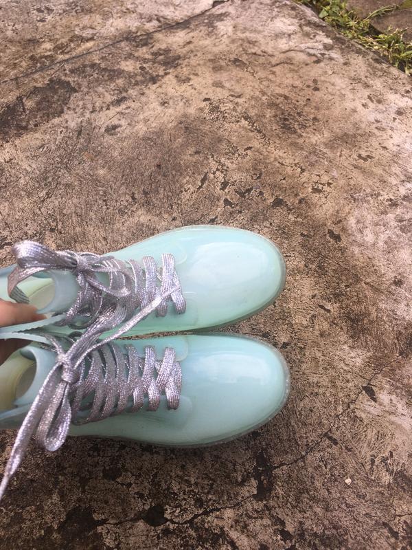 Стильные резиновые ботинки сапоги vices - Фото 4