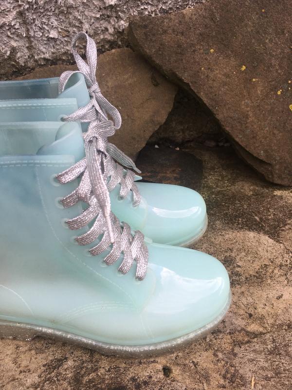 Стильные резиновые ботинки сапоги vices - Фото 6
