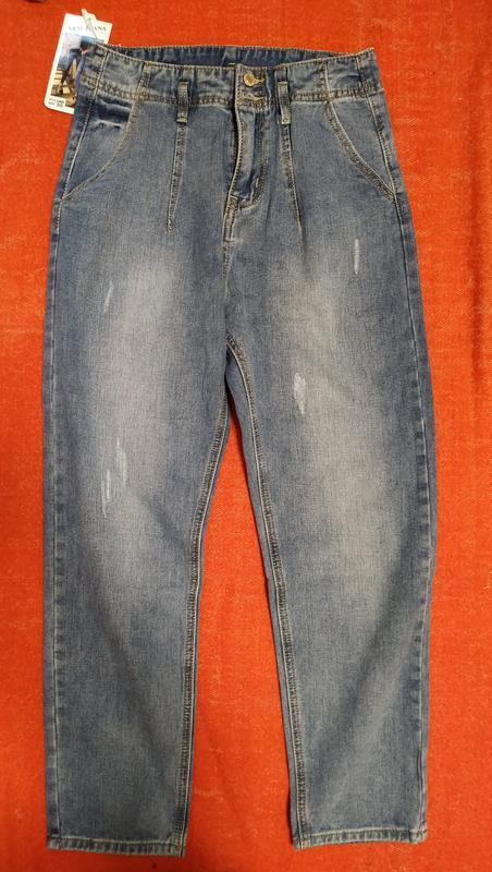 Новые джинсы с поясом мом - Фото 8