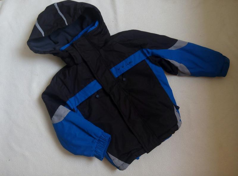 Термокуртка parallel на 3-4г,зима