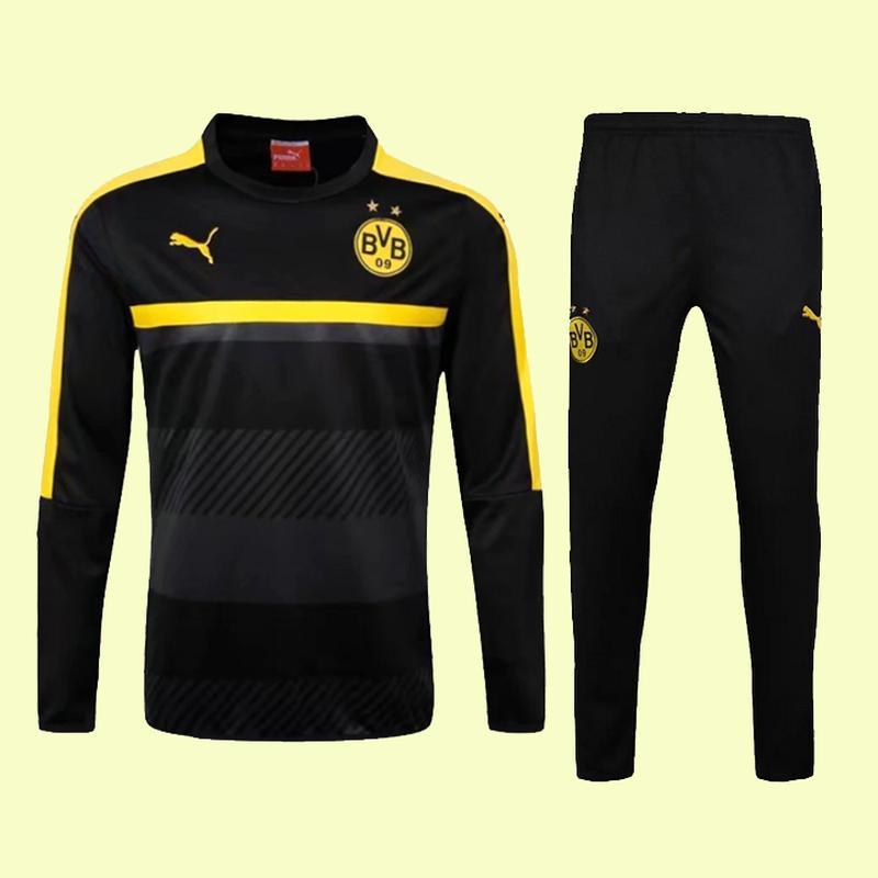 Тренировочный футбольный костюм puma боруссия дортмунд детский...