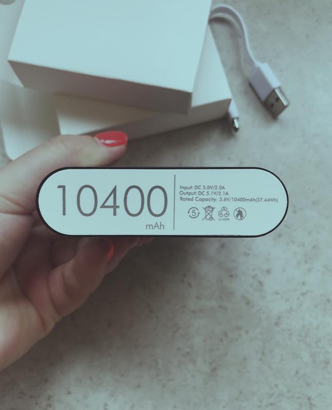 Power Bank 10400mAh - Фото 3